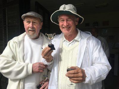 Jonathan Lamb (right) winner of the Kent Cup Swiss